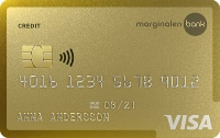 Maginalen bank gold kreditkort